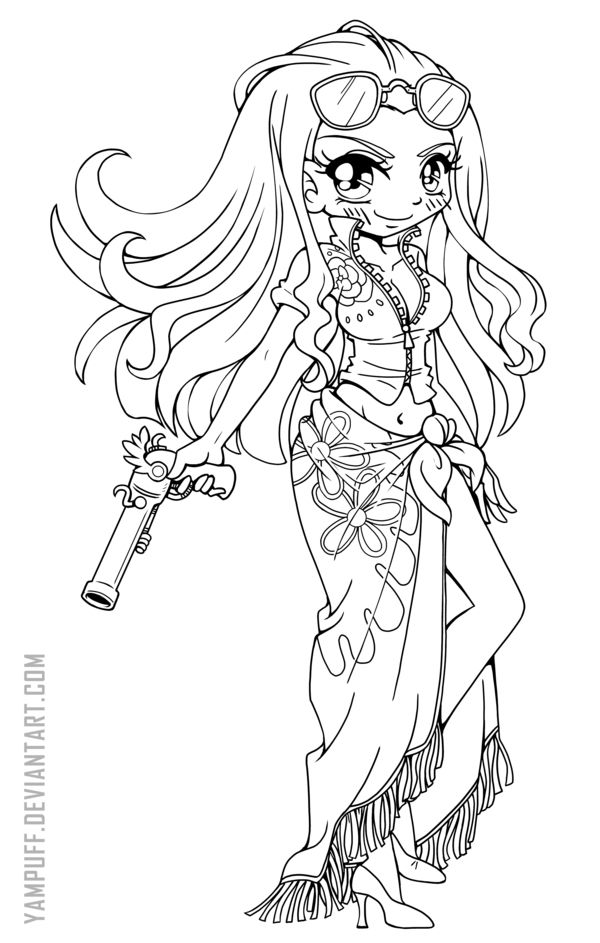 Pin by Kimberly Goninan on Coloring Chibi coloring pages
