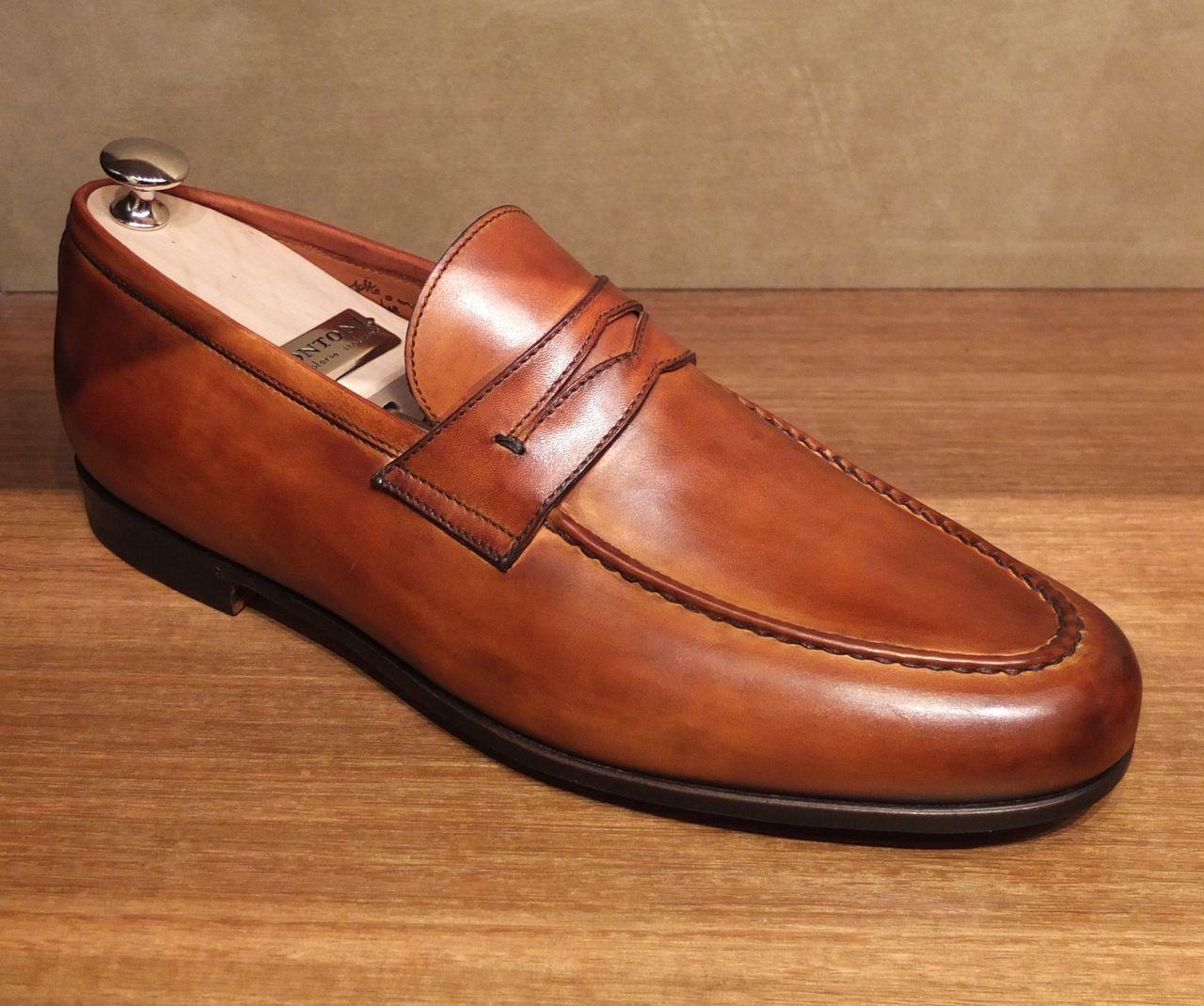 Bontoni loafer. Wilkes Bashford