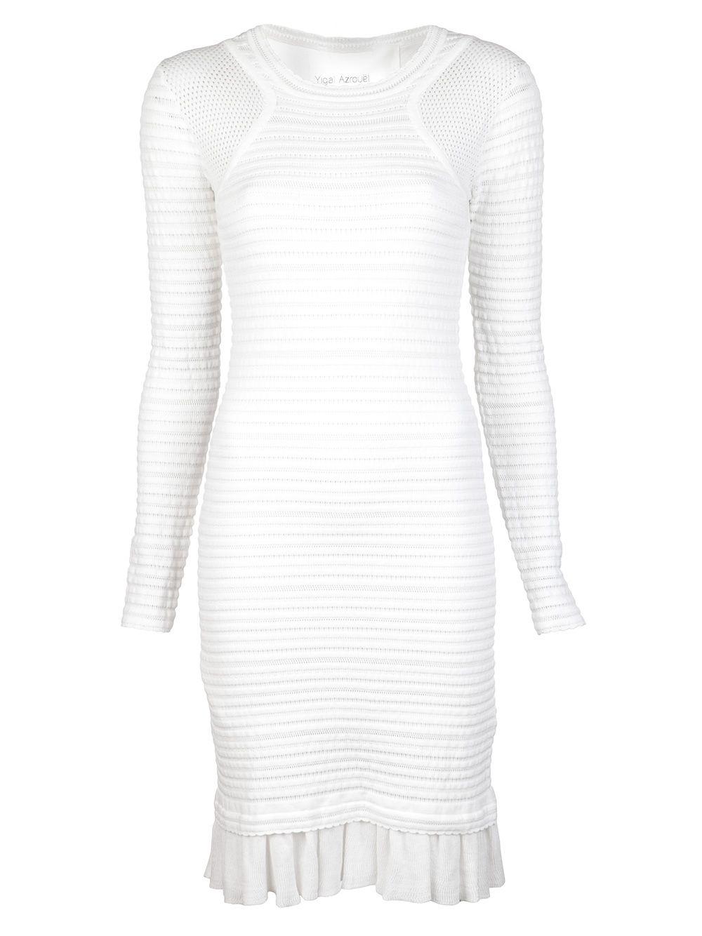 Park Art|My WordPress Blog_White Knit Dress Long Sleeve