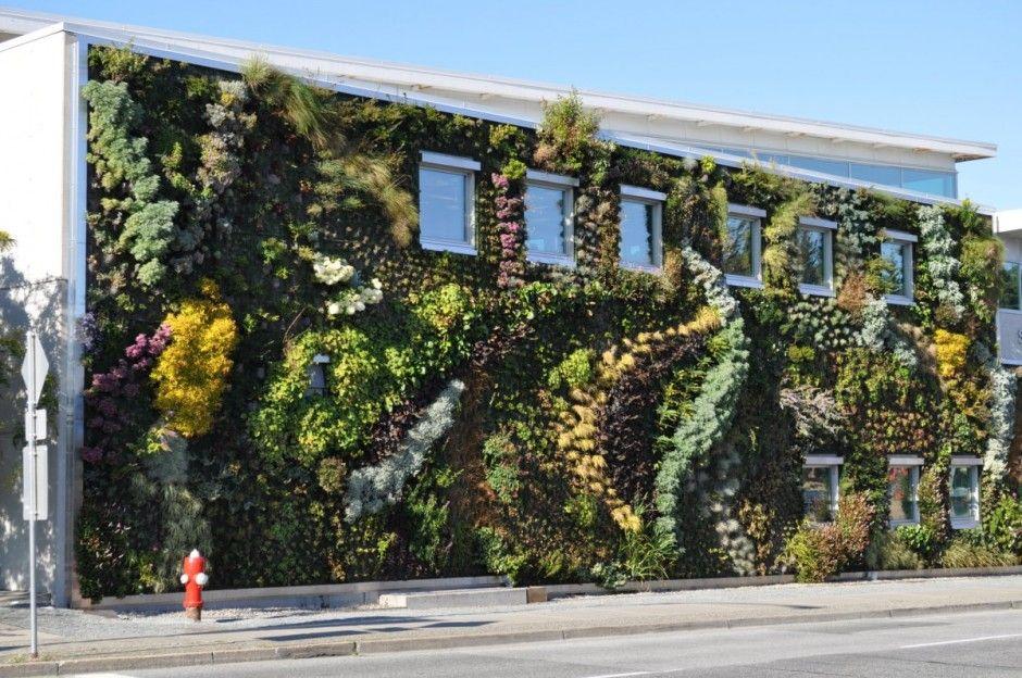 The Big Semiahmoo Green Wall By Green Over Grey | Green Walls .