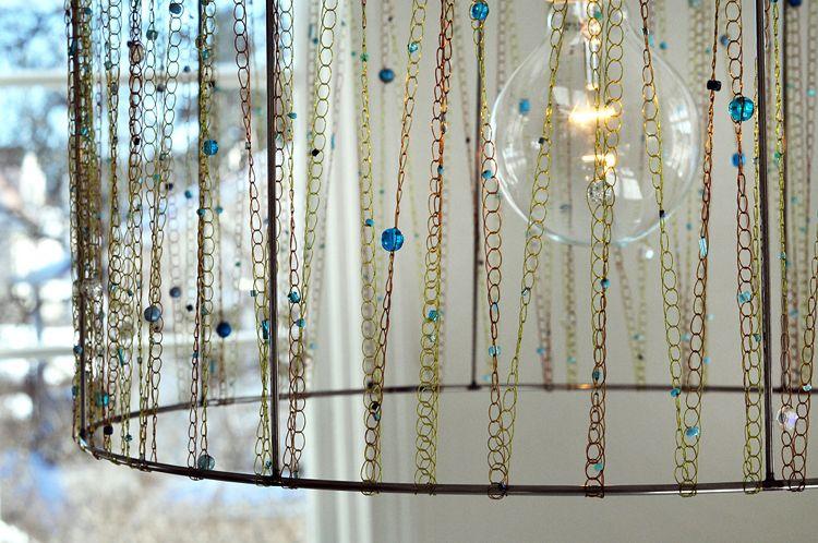 lampenschirm f r stehlampe selber machen anleitungen und ideen kreative lichter pinterest. Black Bedroom Furniture Sets. Home Design Ideas