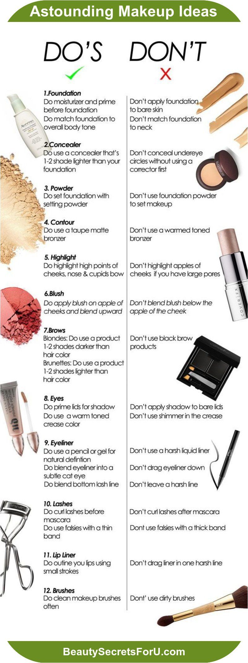 8 Charts That Will Assist You Become A Skin Care Specialist In 2020 Common Makeup Mistakes Makeup Brushes Guide Contouring Makeup Mistakes