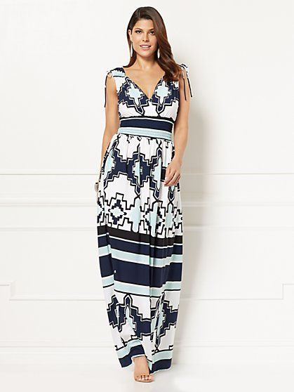 Eva Mendes Collection Eden Maxi Dress New York Company
