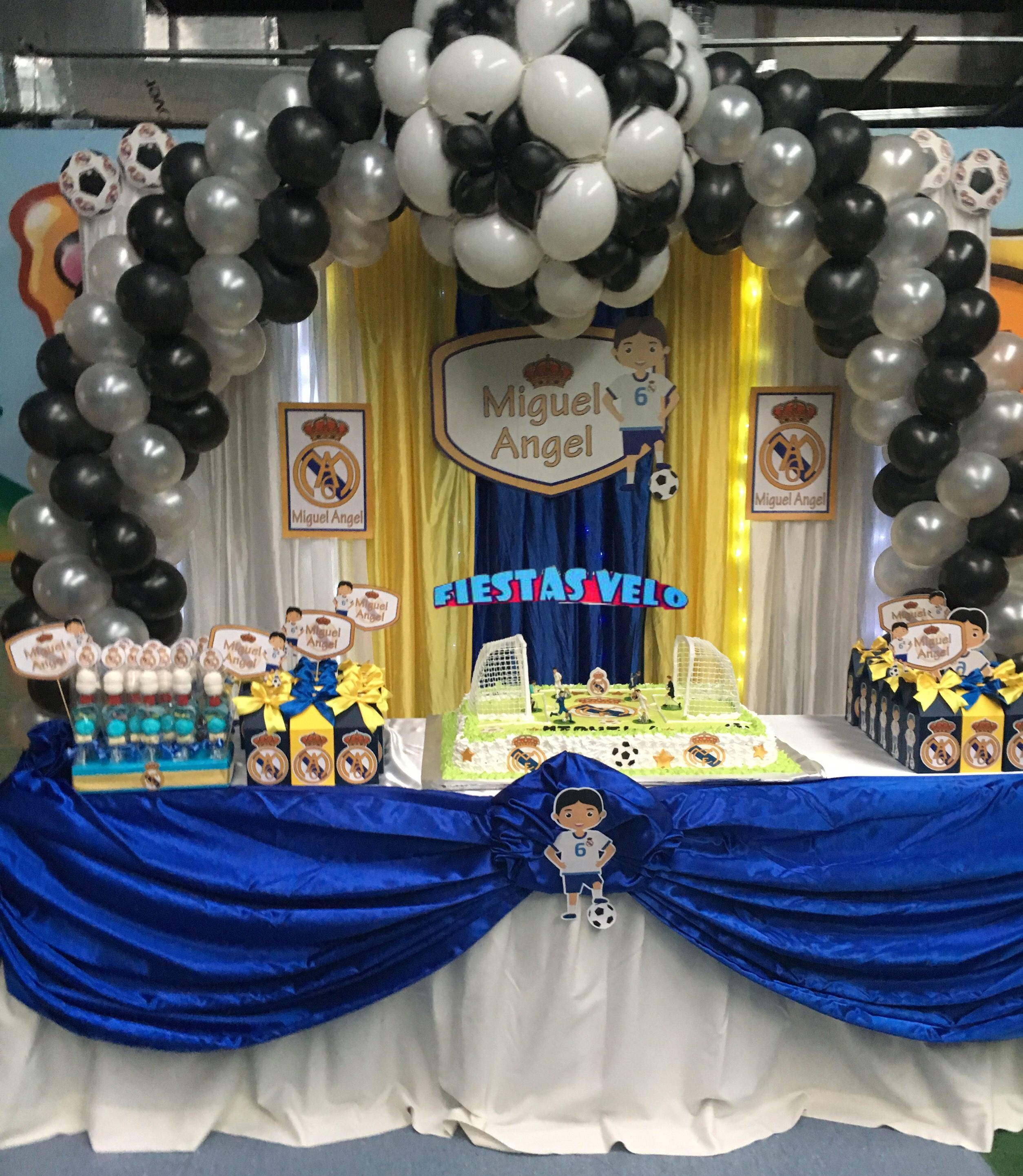 Pin by decoraciones para eventos fiestas velo on decoracin real real madrid thecheapjerseys Images