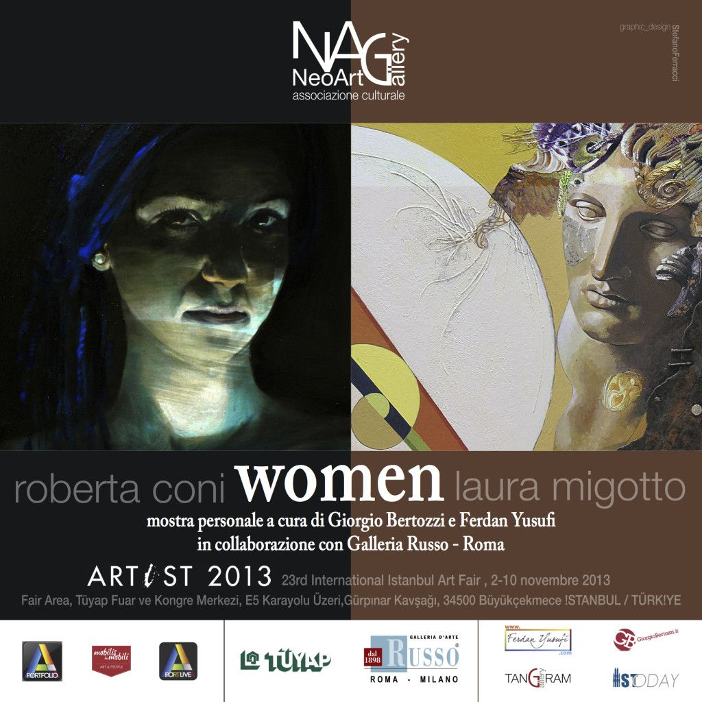 Women Roberta Coni Laura Migotto Artist 2013 Tuyap Istanbul
