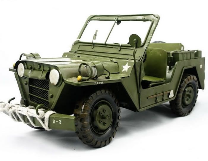 Handmade Antique Model Kit Car Willys Jeep Sami Pinterest Jeep