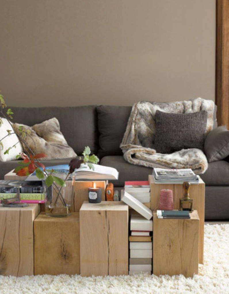 5 Astuces Pour Cr Er Une D Co Cocooning Table Basse Pinterest  # Meuble Tv Cocooning