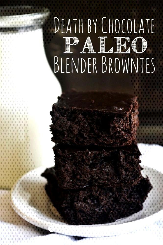 Death by Chocolate Blender Brownies :: Gluten-Free, Grain-Free, Dairy-Free ,  Death by Chocolate Bl