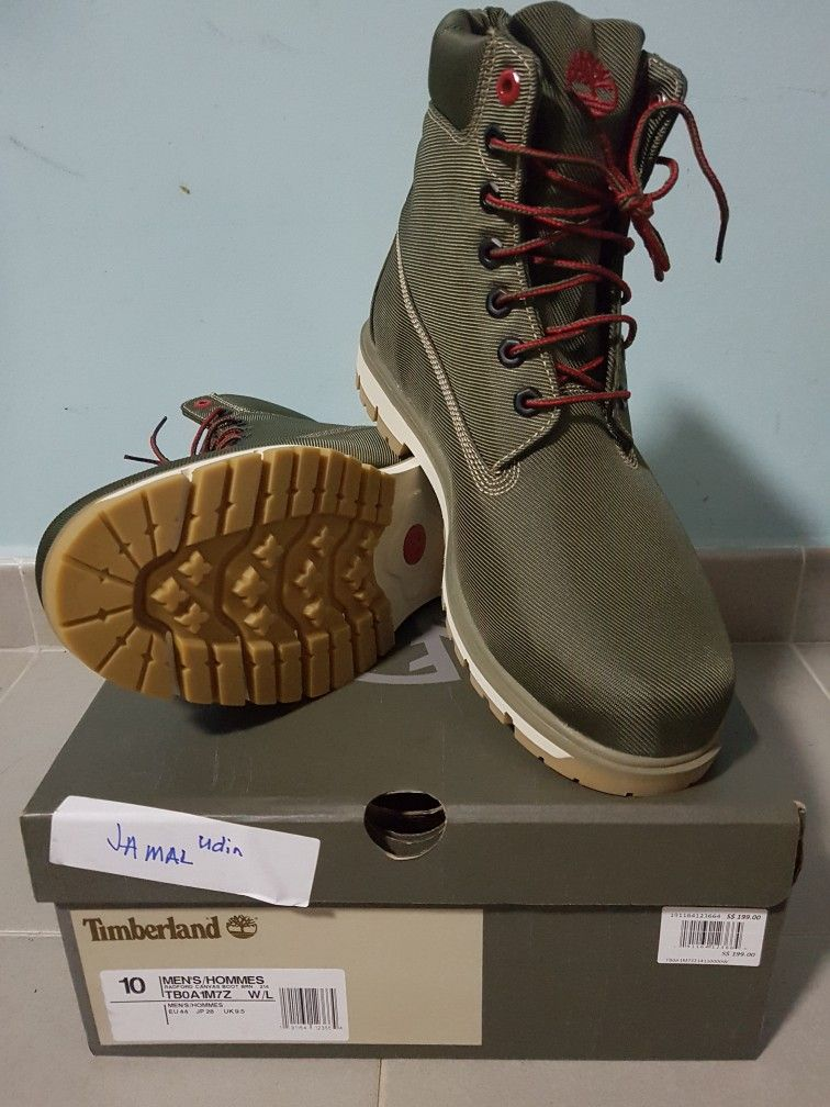 46408d4c840 Timberland Radford Canvas Boot | My Shoe Collection's | Shoe ...