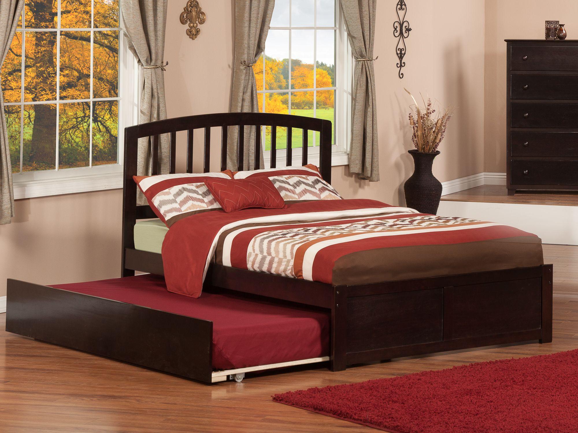 Richmond Trundle Bed Loft bed frame, Full platform bed