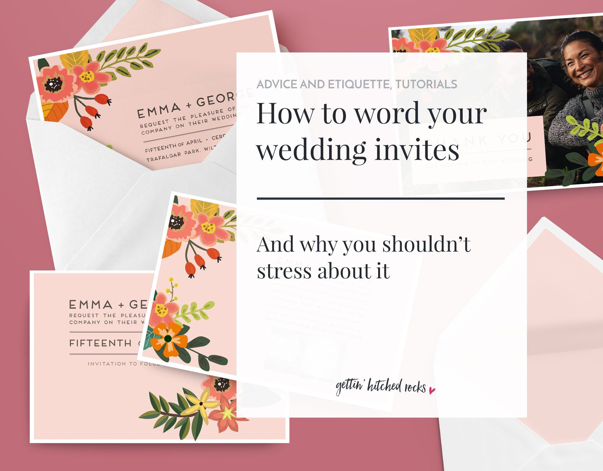 How To Word Wedding Invitations And Why You Shouldn T Stress