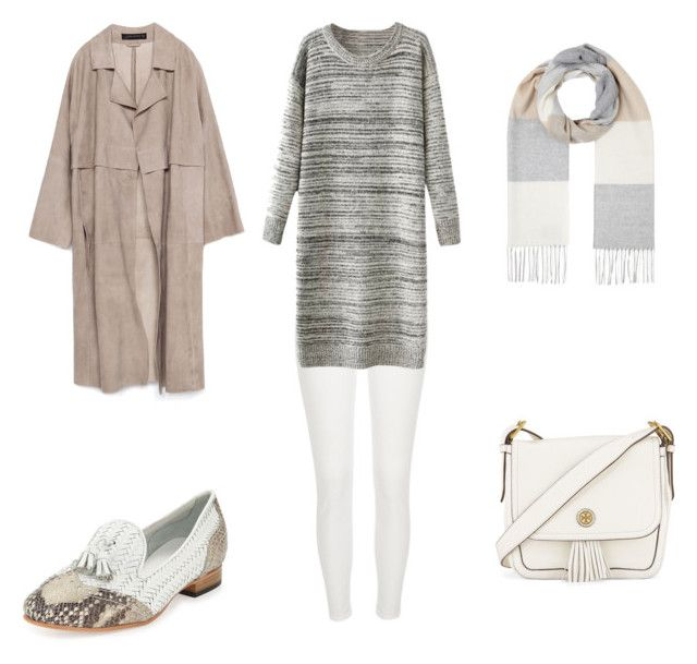 """""""Hijab look"""" by faamoudi on Polyvore featuring Zara, John Lewis, River Island, Sesto Meucci and Tory Burch"""