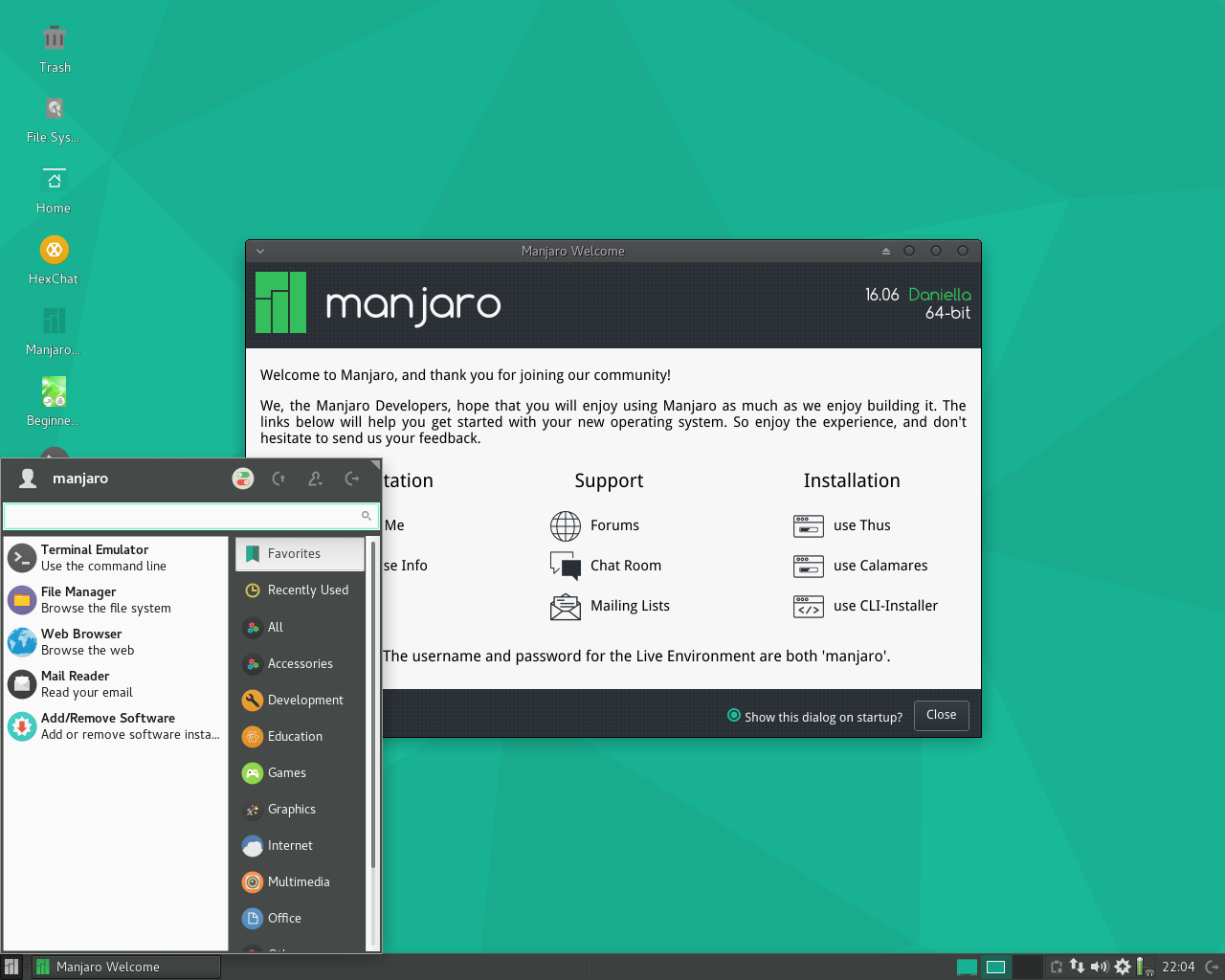 Philip Muller has announced a new release of Manjaro Linux, an Arch