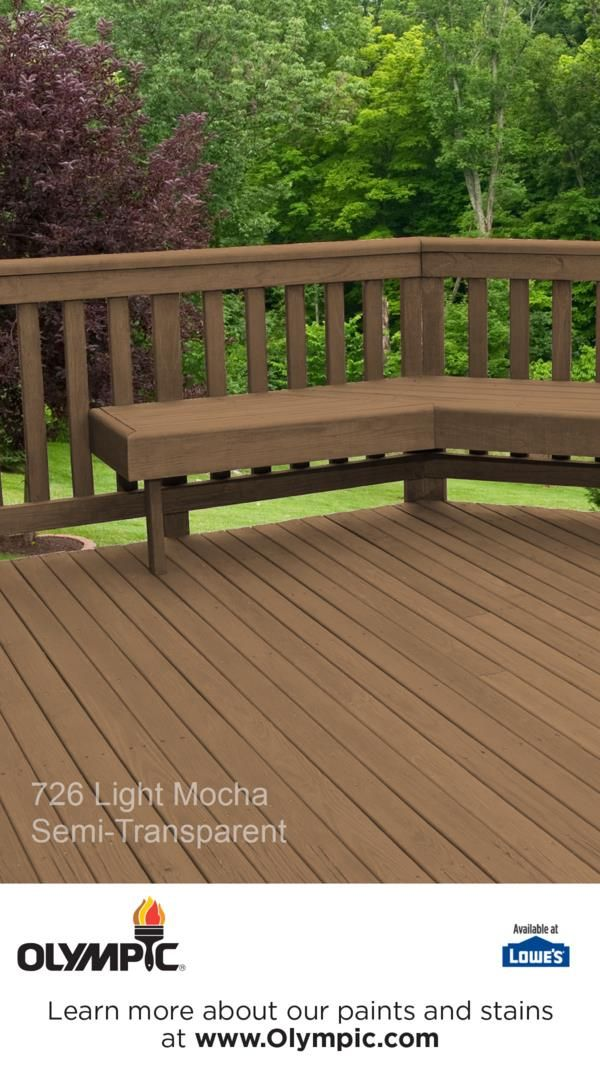 726 Light Mocha Outdoor Ideas Deck Stain Colors Semi