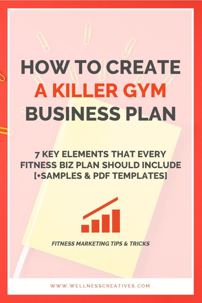 Gym Business Plan Essentials [+ Fitness Center Template