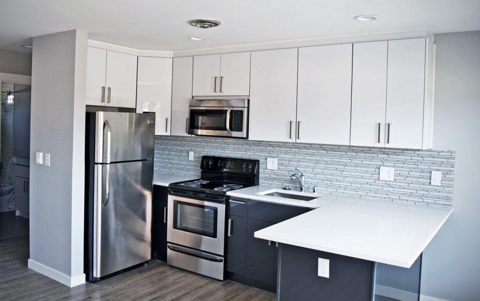 Image result for black lower white upper kitchen cabinets ...