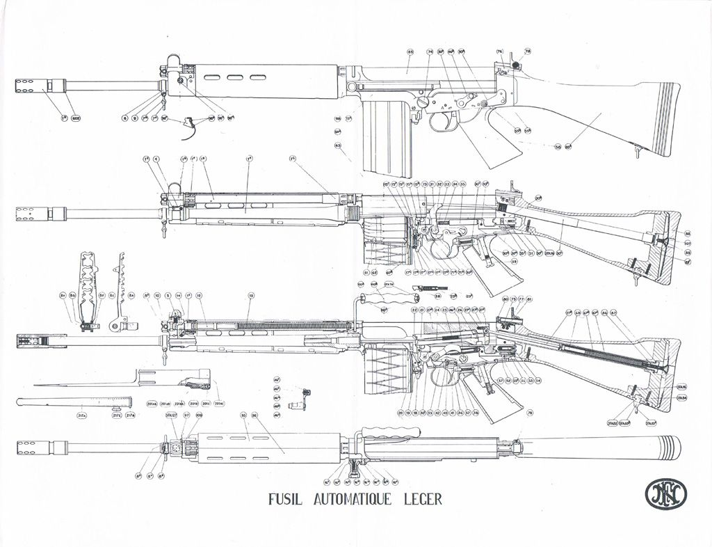 Fn Fal Schematic Data Wiring Diagrams Wimbledon Ax3 5 Block Diagram Blueprint Weapons Pinterest Guns And Assault Rifle Rh Com Manual Pdf Parts
