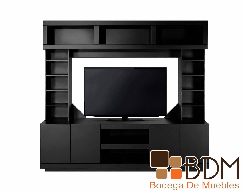 Centro de entretenimiento completo slaven www for Muebles de tv modernos