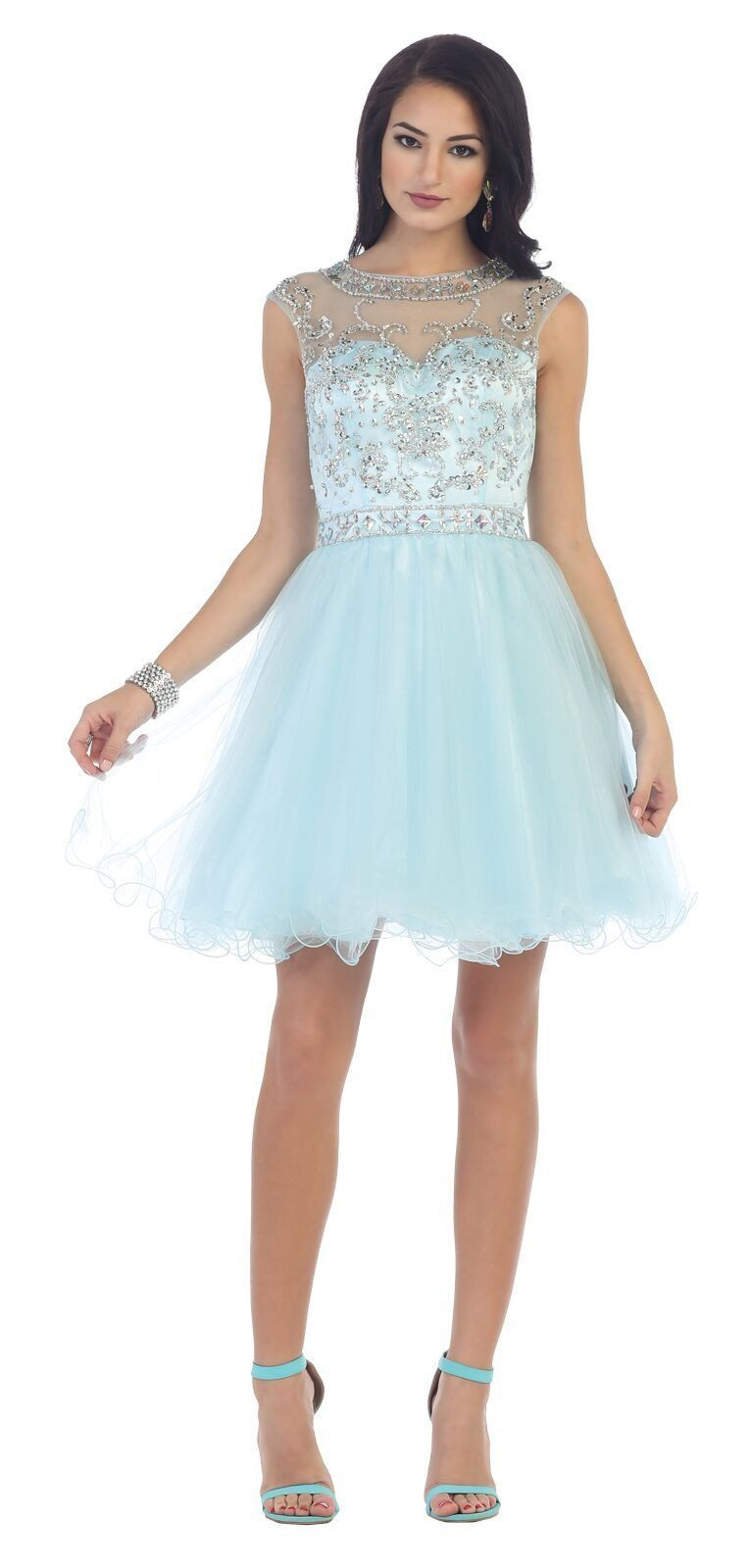 Short formal prom homecoming dress vnice pinterest products