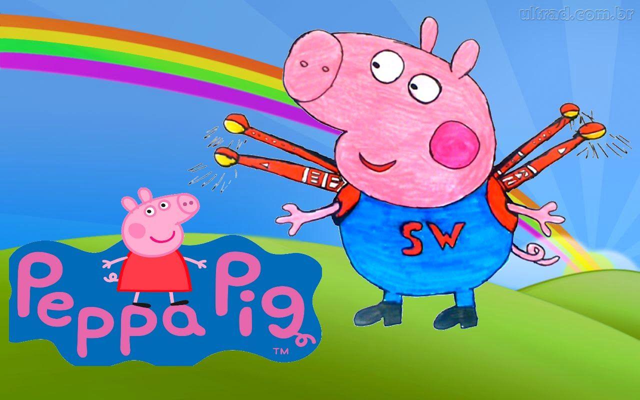 George Pig da Familia Peppa Pig Português Completo com Pig George Super .