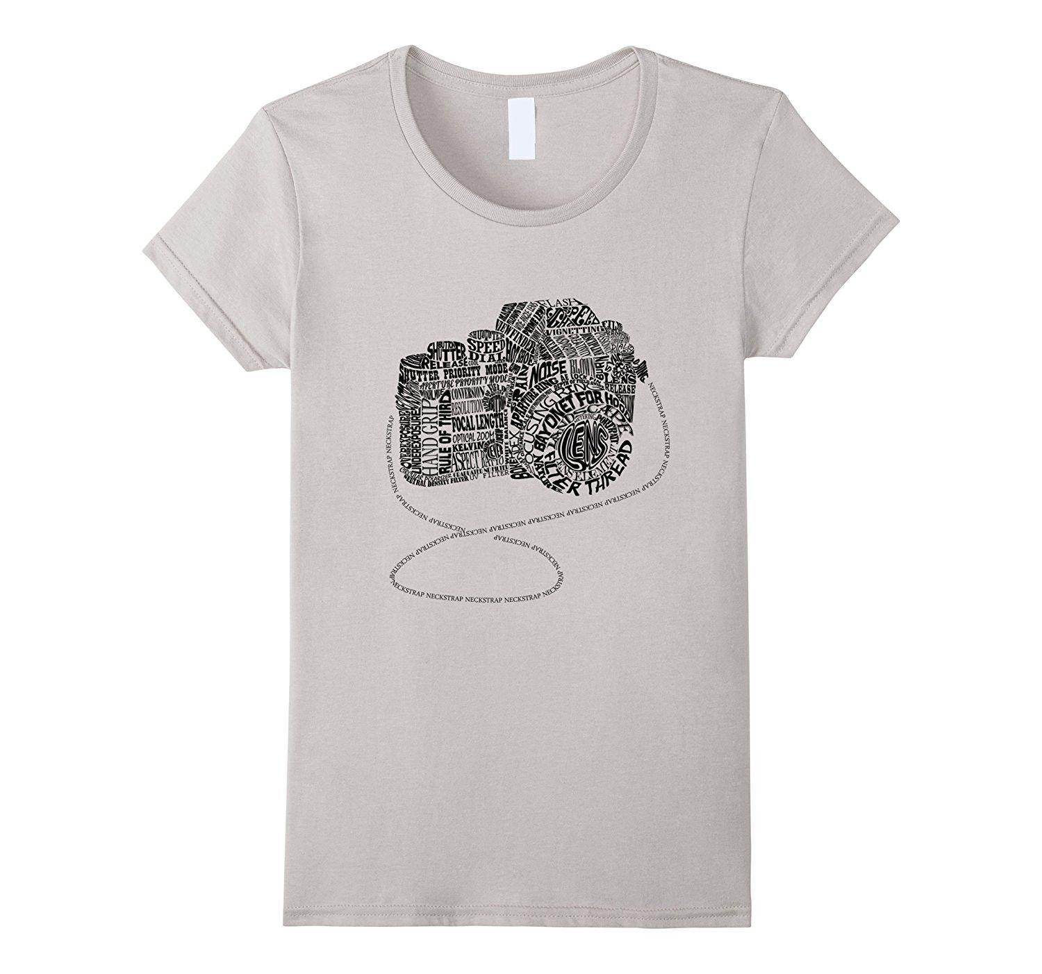 Camera Amazing Anatomy Typography T-shirt Black Version | koszulki ...