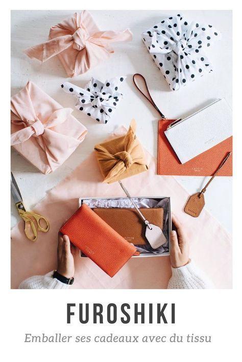 Emballer Ses Cadeaux Avec Du Tissu