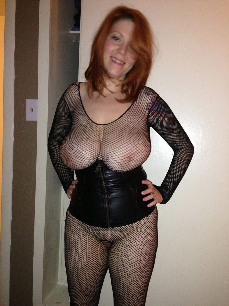 Nude wife sheer