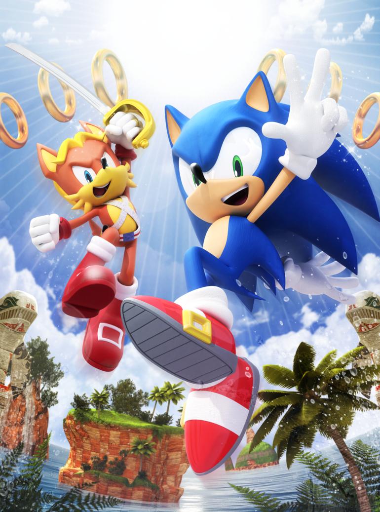 Original - Sonic Super Digest 8 Cover by Elesis-Knight on DeviantArt