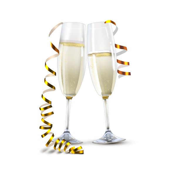 Champagne Glasses Png Champagne Champagne Bottles Newyear