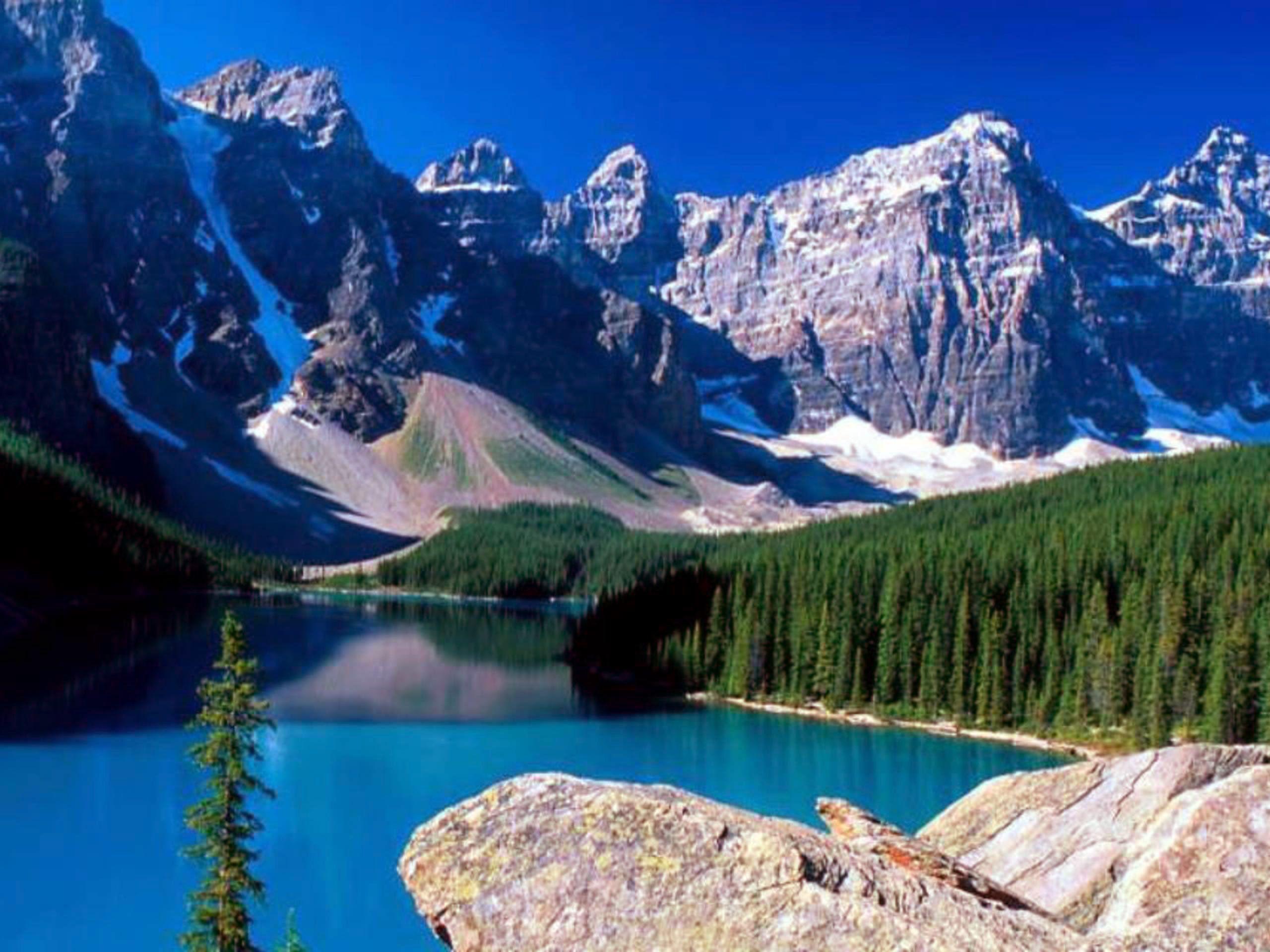 Rocky Mountains | ... Moraine Lake, Banff National Park, Rocky Mountains, Alberta, Canada