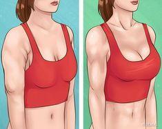 10 Ejercicios simples que te ayudarán a tener brazos hermosos y un busto firme