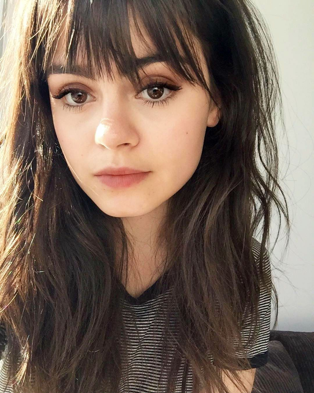 Pin by annlizeth on hair pinterest bangs hair style and makeup