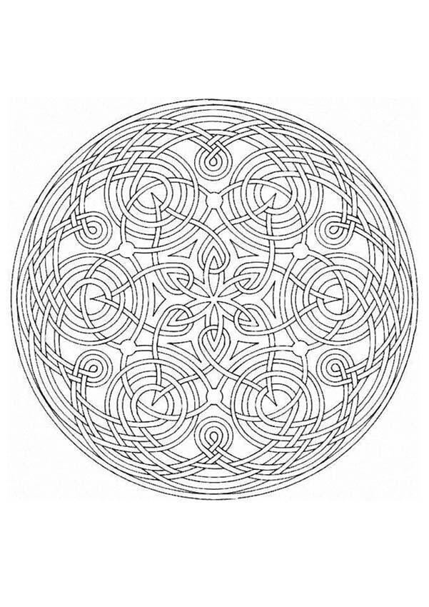Dibujo. | ZENTANGLE & MANDALAS | Pinterest | Ausmalen und Ausmalbilder
