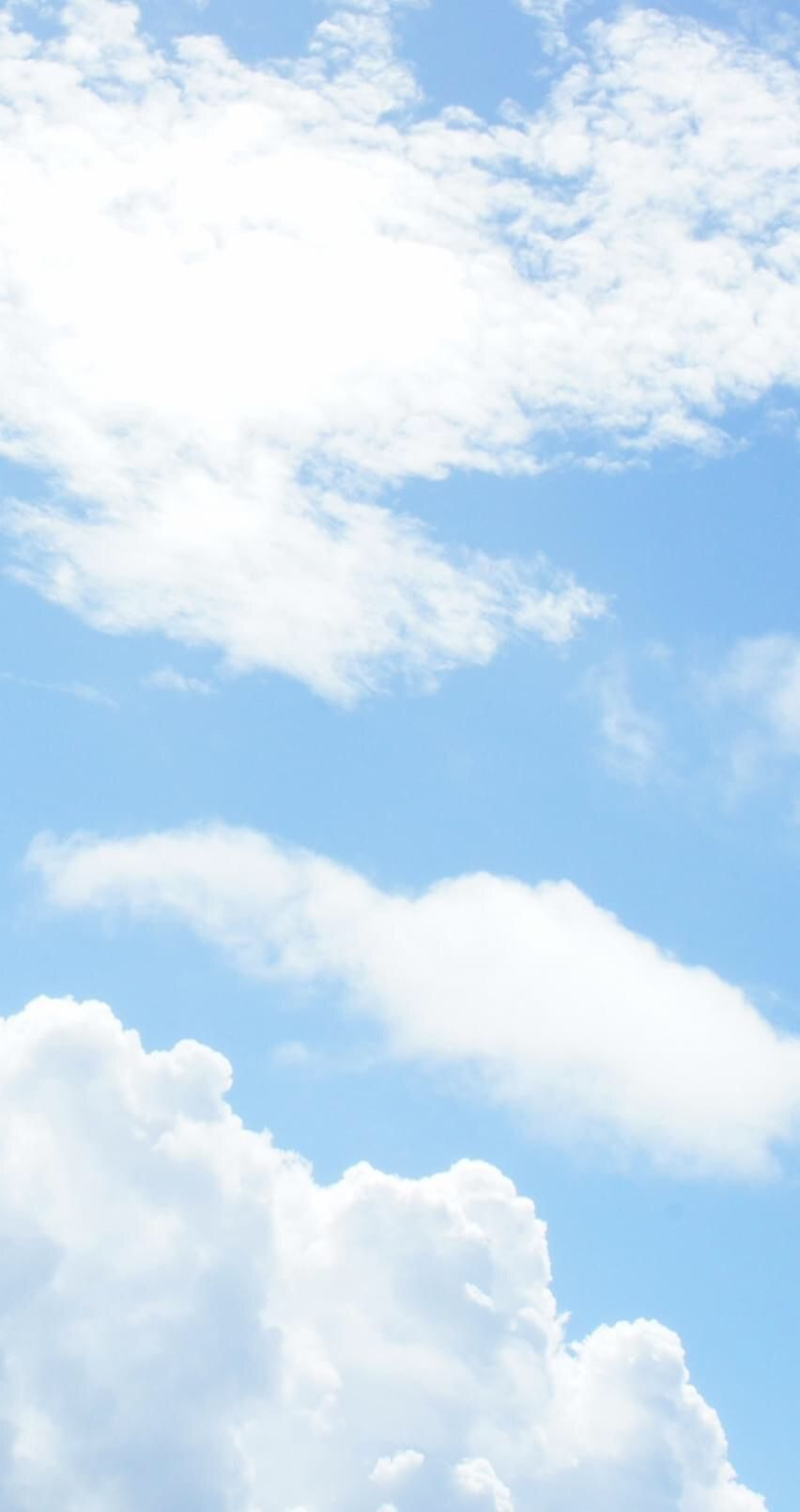 Pin By Zhang On Random Wallpapers Blue Sky Clouds Pastel Sky