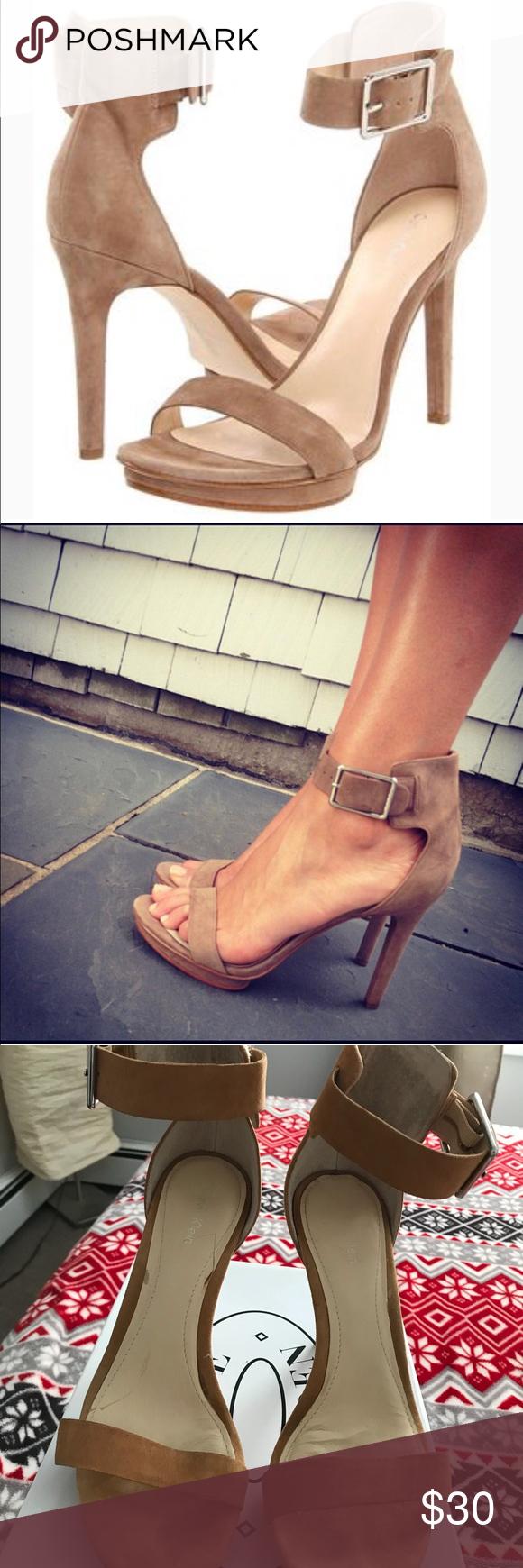 calvin klein vivian sandal