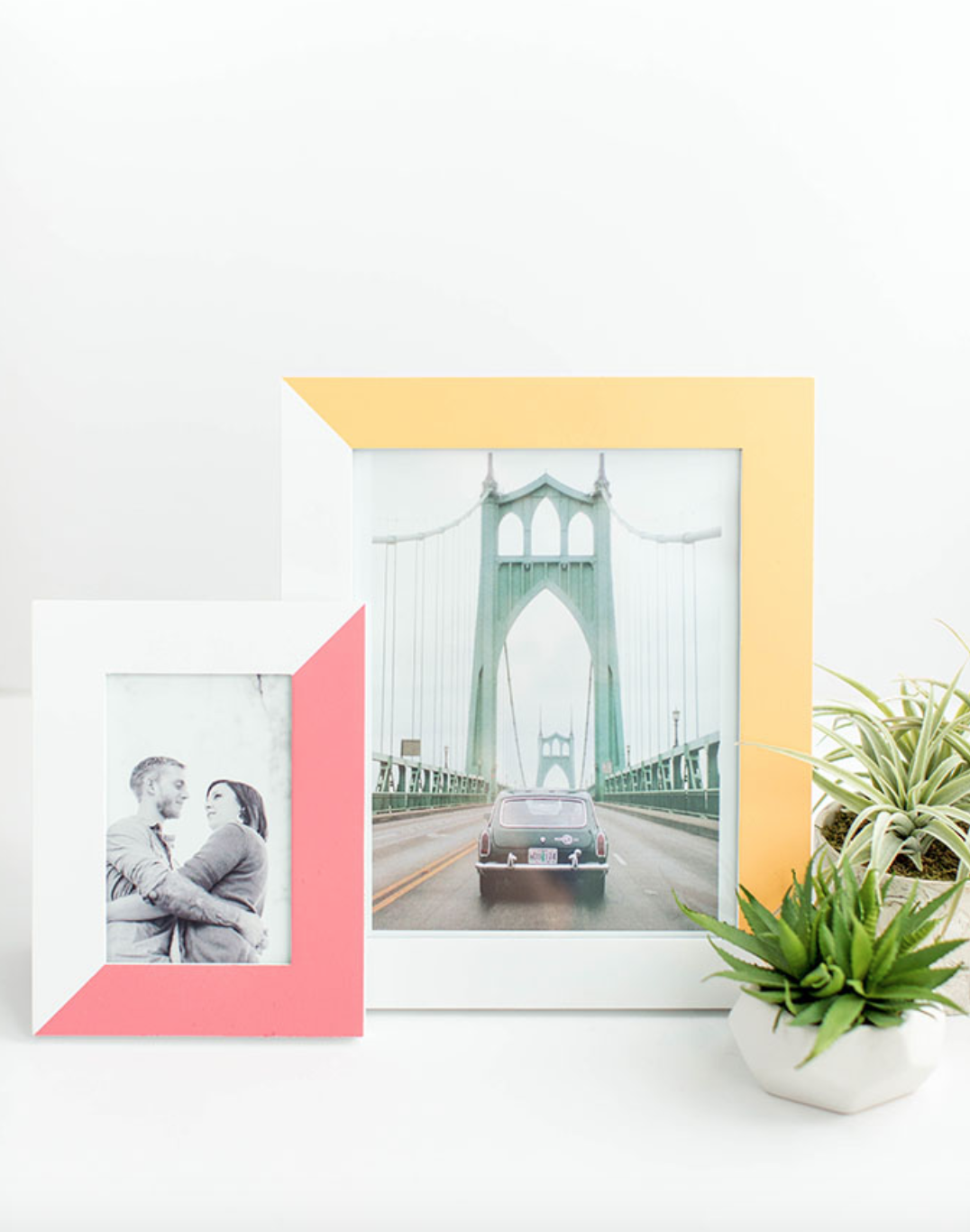 14 Easy Picture Frame Makeover Ideas