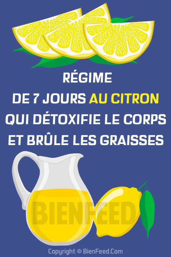 Un nouveau régime de 7-jours au citron qui détoxifie le