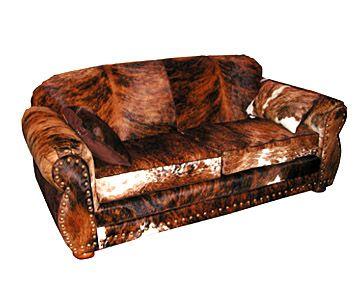 Cowhide Sofa Cross Bar Gallery