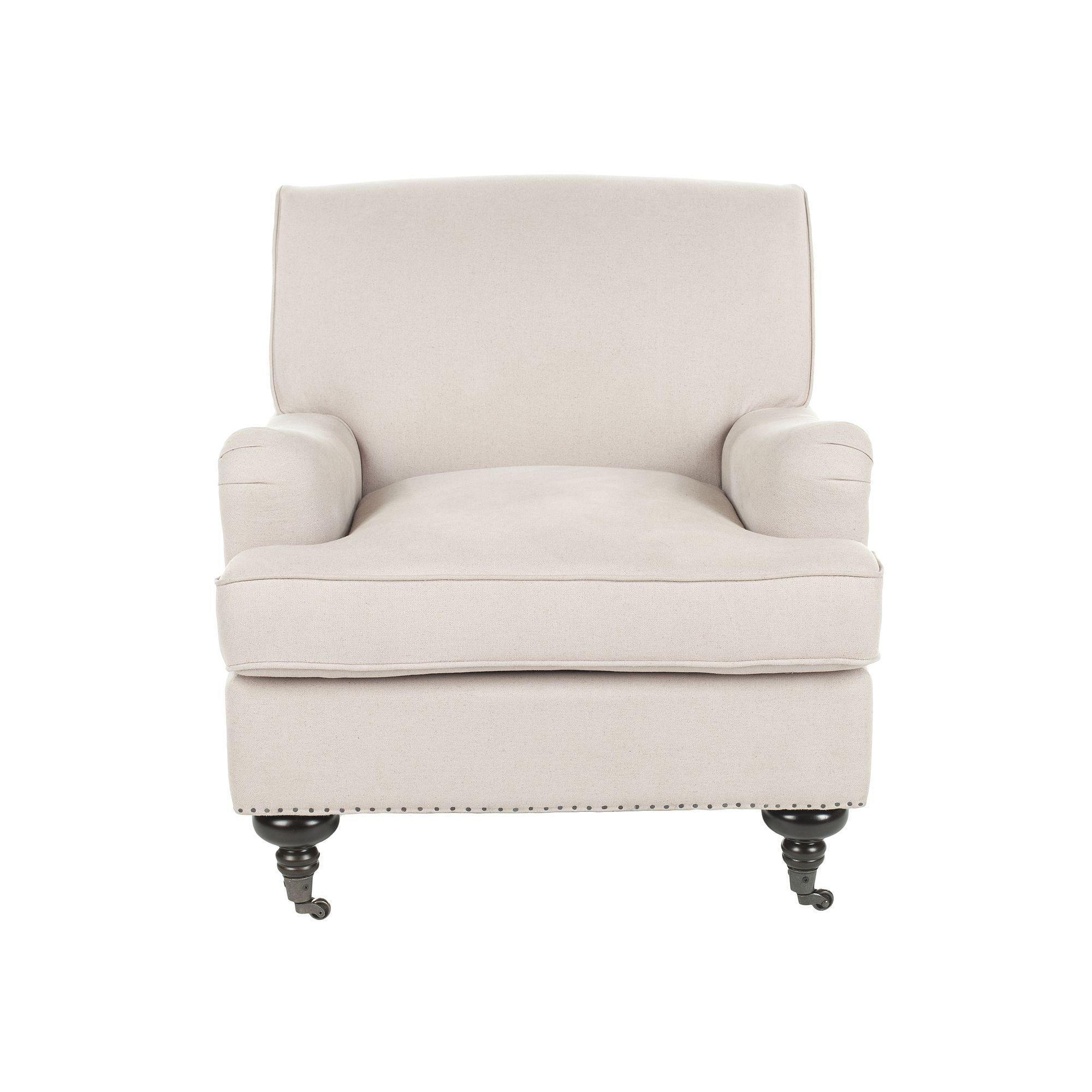 Safavieh Chloe Linen Club Chair, B