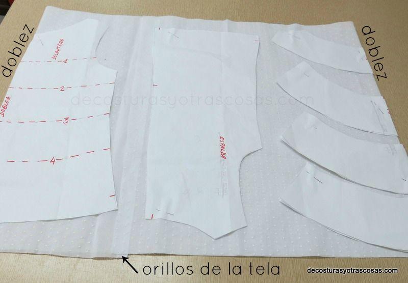 cortar una blusa de batista | costura | Pinterest | Blusas, Costura ...