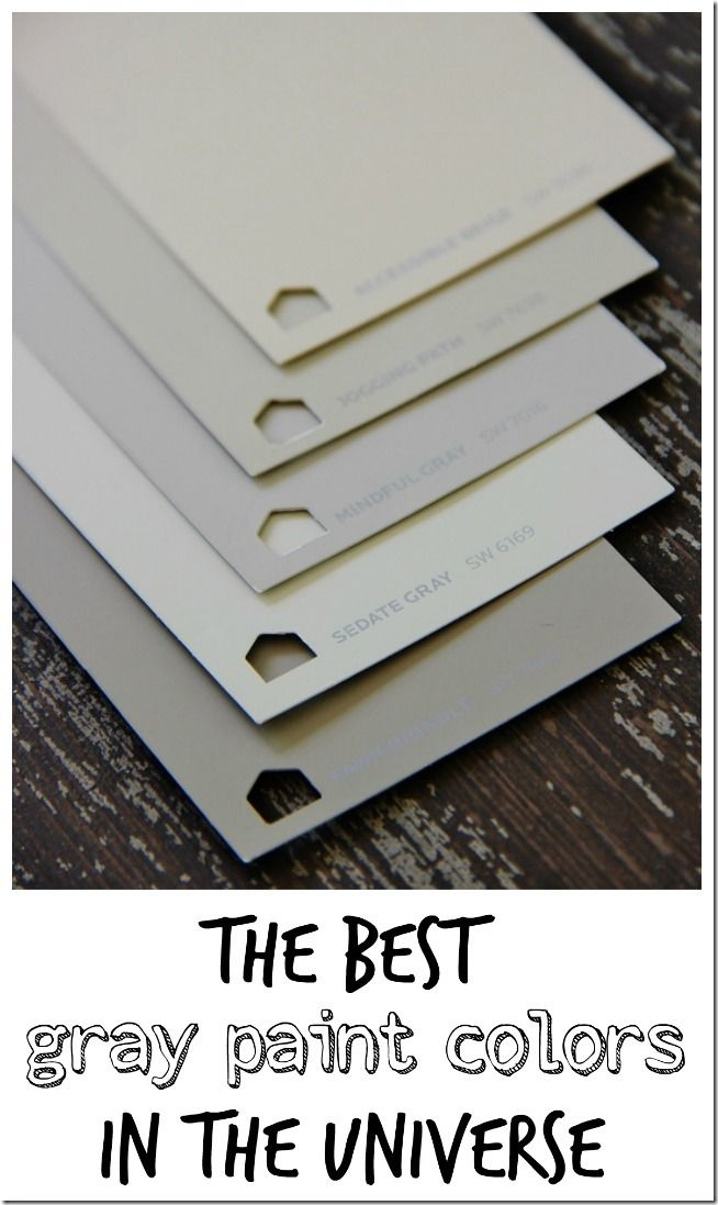 Best Grey Paint the best gray paint colors in the universe | gray paint colors