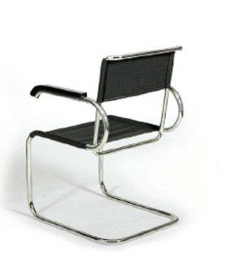 Bauhausstil Möbel marcel breuer d40 cantilever armchair stuhl freischwinger stühle