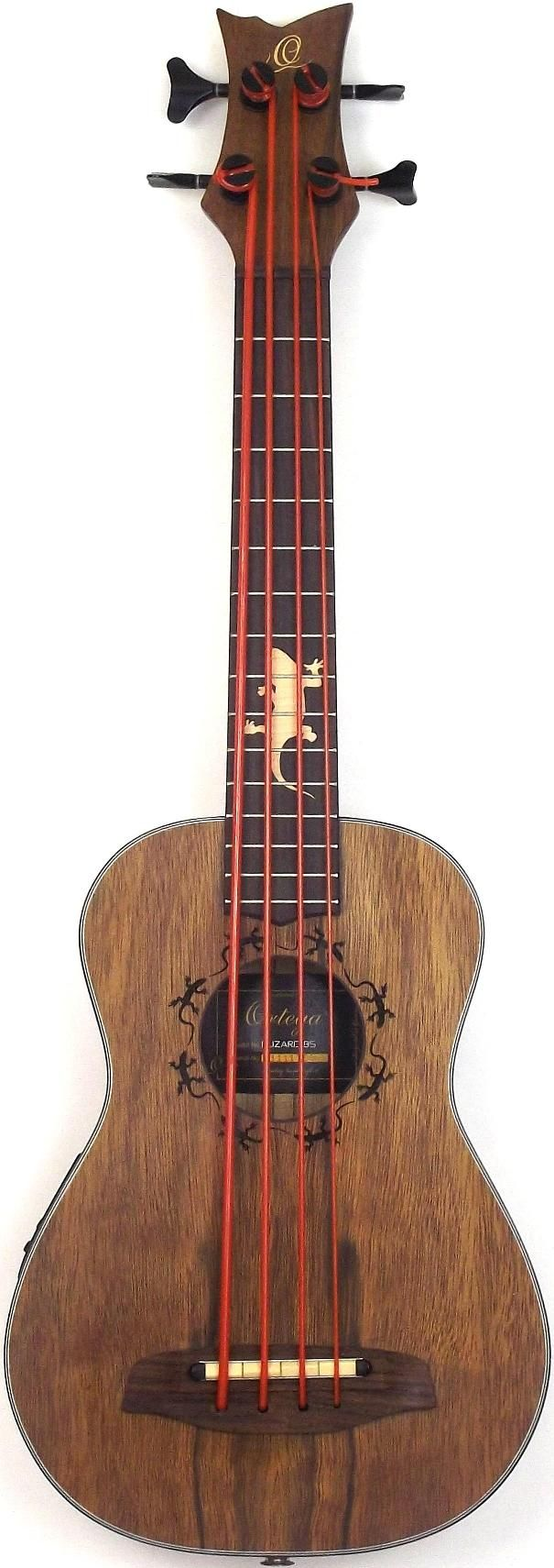 New pic of my Ortega Lizard Uke Bass Basgitaar