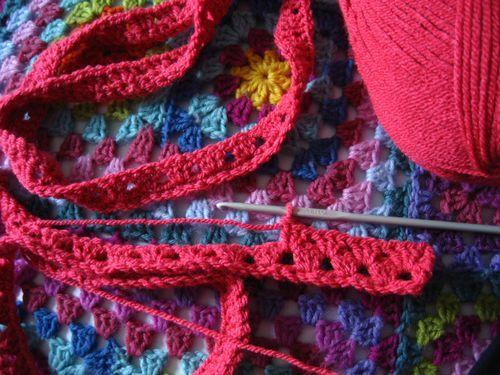 Granny Stripe Blanket :: the beginning | Taschen anleitungen, Decken ...