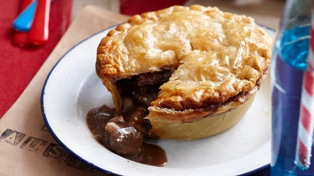Beef and Aussie shiraz pies recipe - 9kitchen Beef and Aussie shiraz pies recipe - 9kitchen,