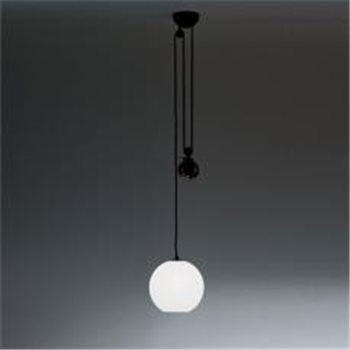 Lampe Suspension Artemide Aggregato Saliscendi Materials Ceiling