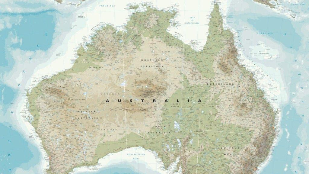 Map of australia wallpaper wall mural self adhesive multiple map of australia wallpaper wall mural self adhesive multiple gumiabroncs Gallery