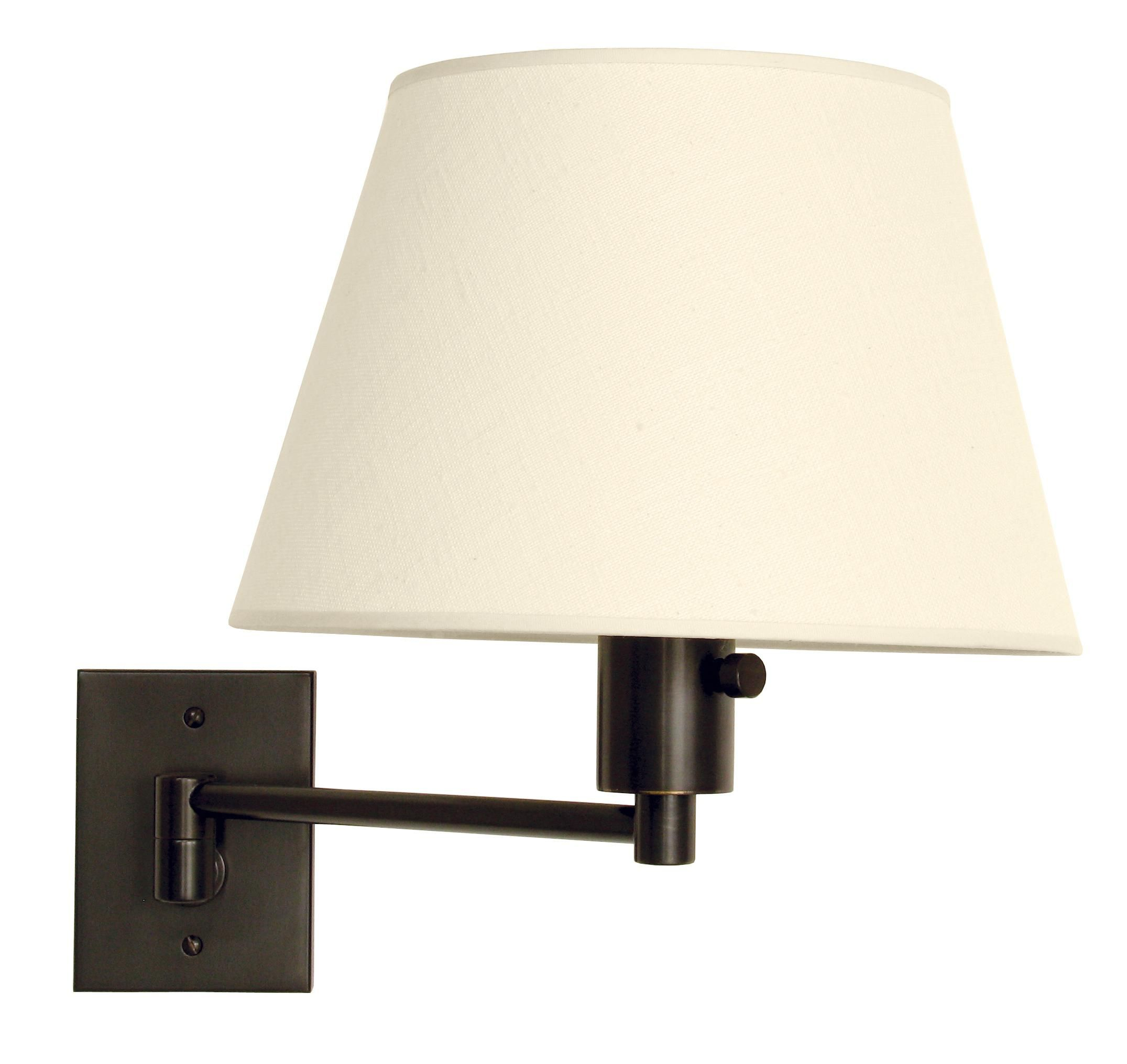 Urban Boulevard Bronze Hardwired Swing Arm Wall Lamp