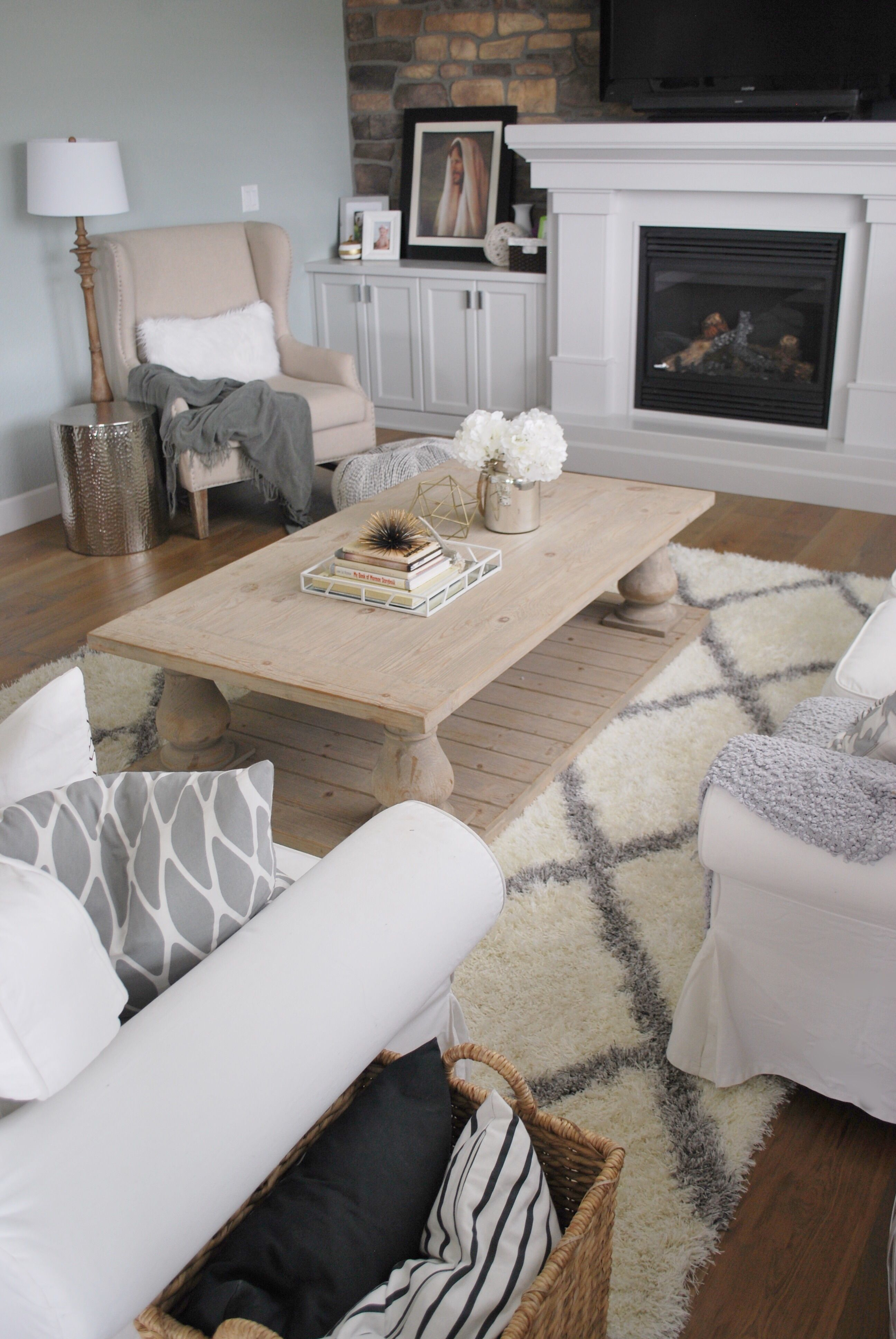 Restoration hardware look for half the price reclaimed wood restoration hardware look for half the price reclaimed wood coffee table painttheworldwhite geotapseo Image collections