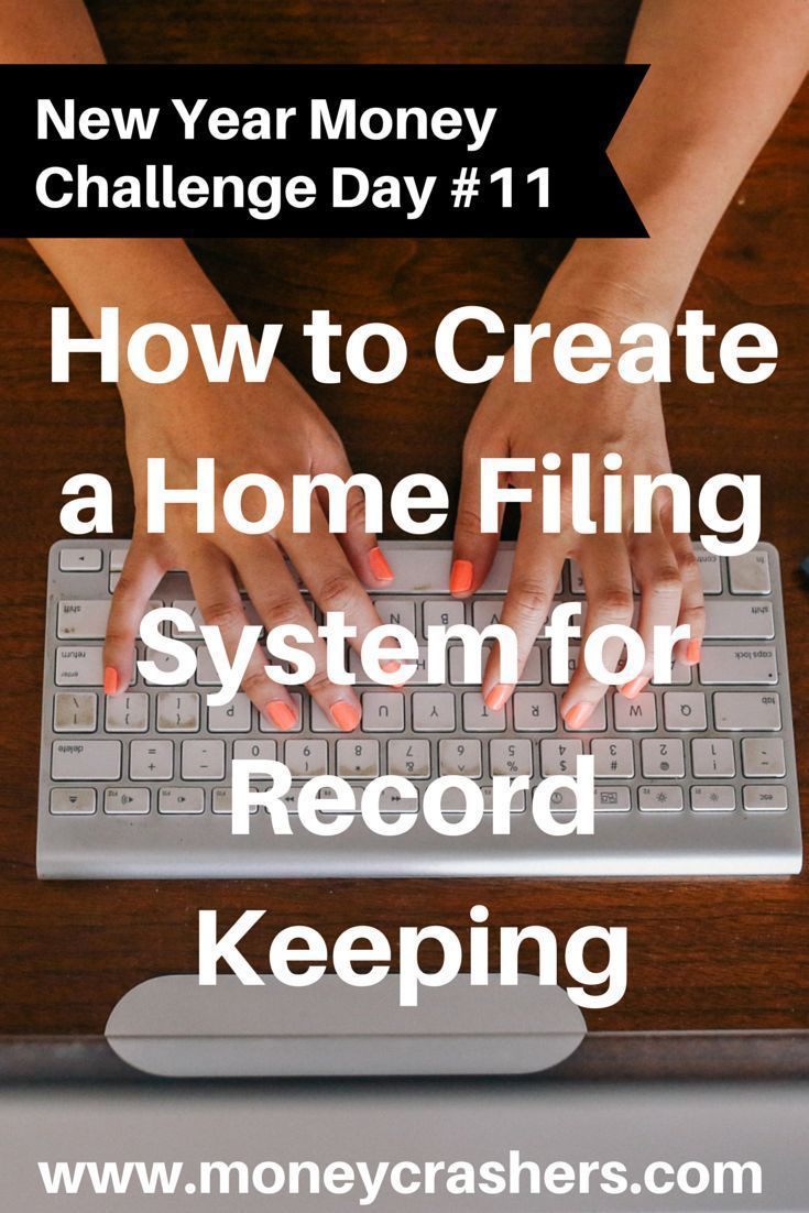 How To Create A Home Filing System For Record Keeping